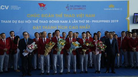 Đoàn thể thao Việt Nam đã có mặt ở Philippines