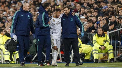 Real cập nhật tình chấn thương của Hazard
