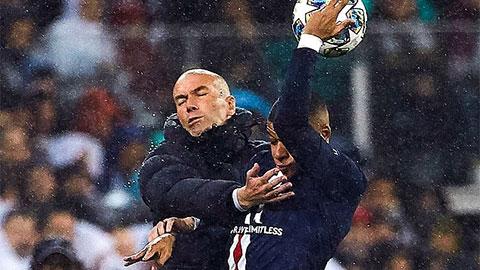Fan chế giễu Zidane cố bắt cóc Mbappe