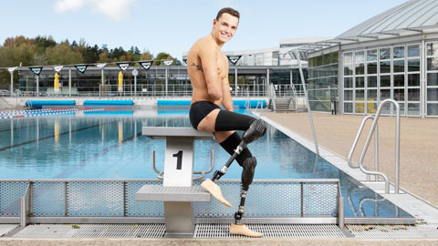 Theo Curin, người khuyết tật thay đổi thế giới