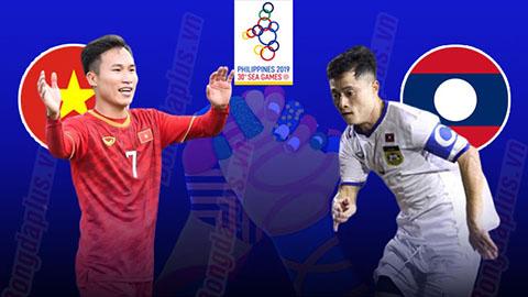 Trực Tiếp Bóng Đá Hôm Nay - VIỆT NAM VS LAOS - Bảng B Seagame 30