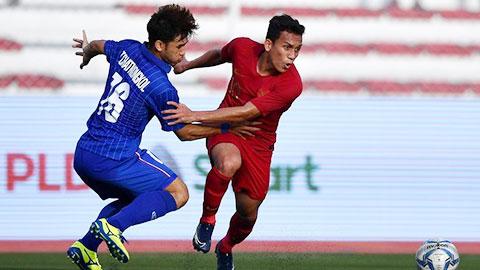 U22 Indonesia 2-0 U22 Singapore: Hạ 'Sư tử non', Indonesia gửi chiến thư tới Việt Nam