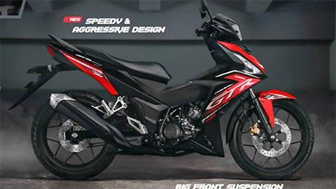 Honda Supra GTR150 2020, biến thể mới của Winner 150 'chất' hơn Yamaha Exciter, giá rẻ bất ngờ