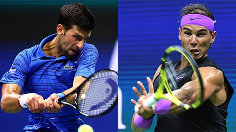 Nadal và Djokovic