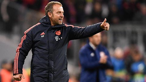 Bayern vùi dập Crvena Zvezda: Ngả mũ trước Flick