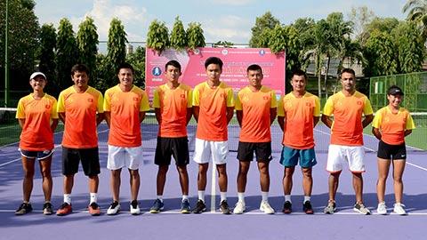 ĐT quần vợt Việt Nam tham dự SEA Games 30