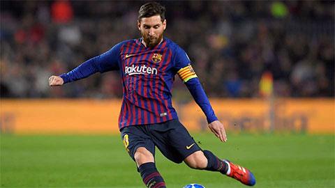 Messi nhận giải Cầu thủ làm bóng xuất sắc nhất năm 2019