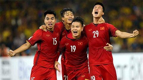 BXH FIFA tháng 11: Việt Nam lên thứ 94 thế giới, Thái Lan tụt 4 bậc