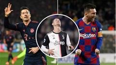 Ronaldo không lọt nổi vào top 15 tiền đạo xuất sắc nhất năm 2019