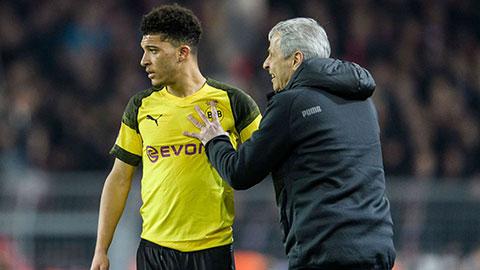 Dortmund sẵn sàng bán Sancho với giá 100 triệu bảng