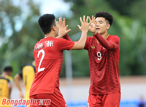 Chưa bao giờ Việt Nam ghi 12 bàn sau 2 trận đầu tiên như hiện tại - Ảnh: Đức Cường