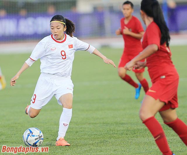 Huỳnh Như cho biết tỷ số 6-0 mà Việt Nam có trước Indonesia chỉ là tạm chấp nhận được