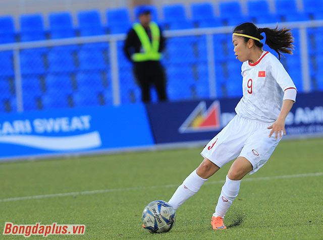 Đội trưởng Huỳnh Như được tung vào sân ở hiệp 2