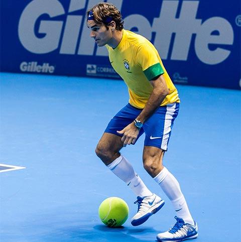 Federer sở hữu khả năng chơi bóng đỉnh cao