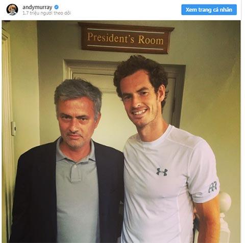 Andy Murray muốn HLV Mourinho dẫn dắt Arsenal