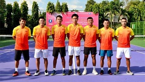 ĐT quần vợt Việt Nam quyết tâm giành HCV SEA Games đầu tiên trong lịch sử