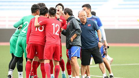 HLV Park Hang Seo cấm cửa truyền thông trước trận gặp Indonesia