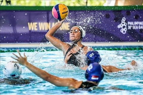 ĐT bóng nước nữ Thái Lan đã giành Huy chương vàng SEA Games đầu tiên sau chiến thắng trước Singapore