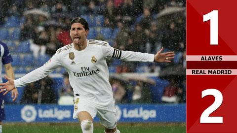 Alaves 1-2 Real Madrid(Vòng 14 La Liga 2019/20)