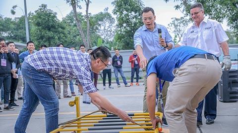 Đội ngũ tình nguyện viên tích cực tham gia khoá đào tạo