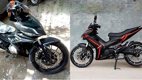 Xe côn 'lai' Honda Winner X và Yamaha Exciter 2019, giá chỉ 25 triệu - cư dân mạng phát cuồng