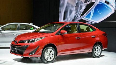 Toyota Vios tiếp tục giảm giá sốc 'đấu' Hyundai Accent, Honda City