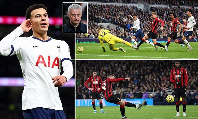 Mourinho đang có một tuần trăng mật ngọt ngào với Tottenham