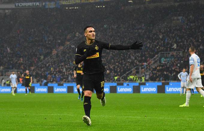 Lautaro Martinez tỏa sáng giúp Inter hạ SPAL