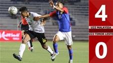 U22 Malaysia 4-0 U22 Timor Lester(Sea games 30)