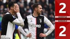 Juventus 2-2 Sassuolo(Vòng 14- Seri A 2019/20)