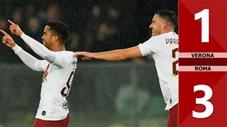 Verona 1-3 Roma(Vòng 14- Seri A 2019/20)