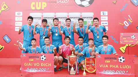 Supertech Pro Cup 2019: Bảo Linh xuất sắc giành ngôi vô địch