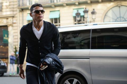 Thiago Silva là một trong các ngôi sao PSG thủng lưới trước đám trộm chuyên nghiệp