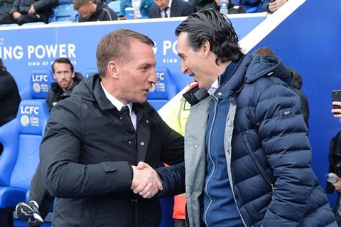 Rodgers sẽ thay Emery dẫn dắt Arsenal?