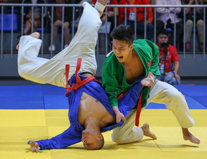 Luật thi đấu của Kurash khác với Judo