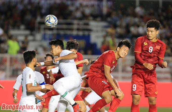 Trung vệ này đã có bàn thắng thứ 8 trong năm 2019 và đang là trung vệ tấn công tốt nhất Việt Nam hiện tại