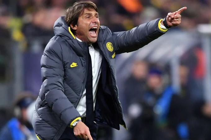 Inter của Conte đã vươn lên dẫn đầu Serie A