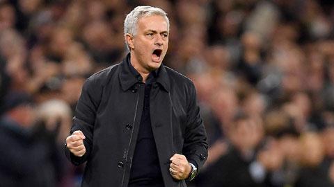 Mourinho có thể lập cột mốc đặc biệt nếu cùng Tottenham thắng M.U