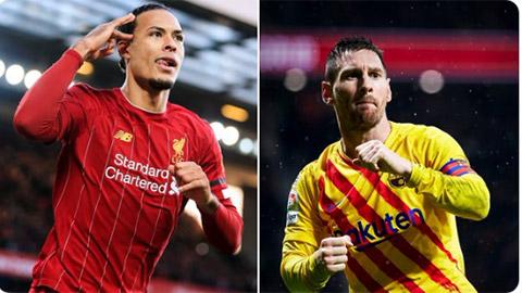 Van Djik: 'Nếu Messi giành Quả bóng Vàng, sẽ chẳng ai thất bại cả'