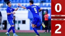 U22 Lào 0-2 U22 Thái Lan(Sea games 30)