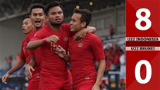 U22 Indonesia 8-0 U22 Brunei(Sea games 30)