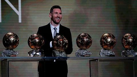 Đánh bại van Dijk và Ronaldo, Messi giành QBV 2019