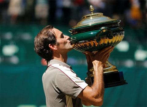 Federer vô địch Halle Open lần thứ 10 vào tháng 6/2019