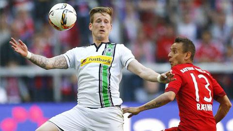 M'gladbach sẵn sàng gây bất ngờ trước Bayern