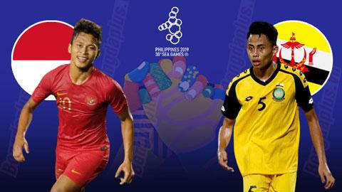 U22 Indonesia sẽ đối đầu với U22 Brunei