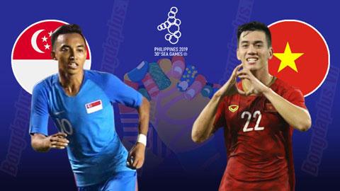 Nhận định bóng đá U22 Singapore vs U22 Việt Nam, 19h00 ngày 3/12: Đánh to, thắng lớn