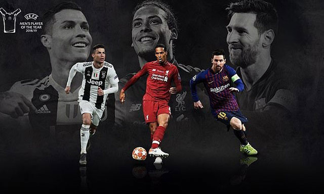 Messi và Ronaldo có quá nhiều lợi thế so với Van Dijk