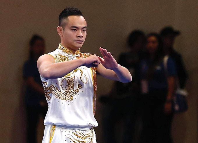 Quốc Khánh giành huy chương vàng Wushu đầu tiên cho Việt Nam tại SEA Games 2019