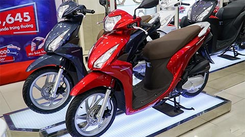 """Honda Vision 2019 bước vào """"cơn sốt"""" giảm giá: Rẻ chưa từng có"""