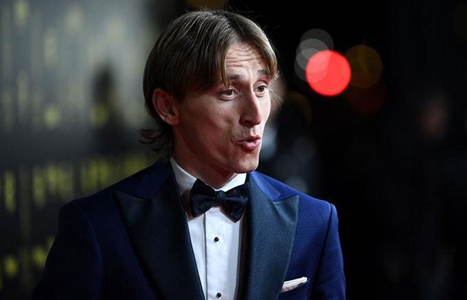 Chủ nhân Quả bóng vàng 2018 Luka Modric có 1 năm thi đấu không thành công